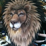 Plastazote lion head