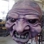 Plastazote ogre head
