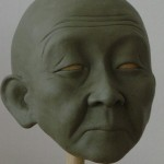 Clay head sculpt